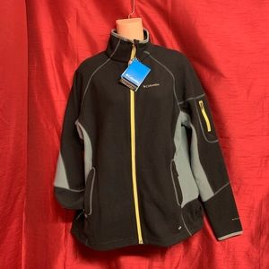 Colombia Black Sports Jacket Size XL